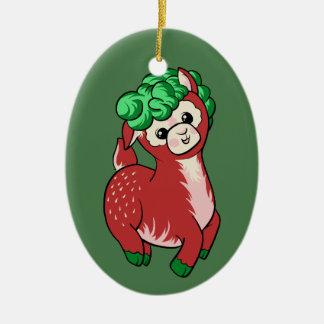 AlpacaBerry! Ceramic Ornament