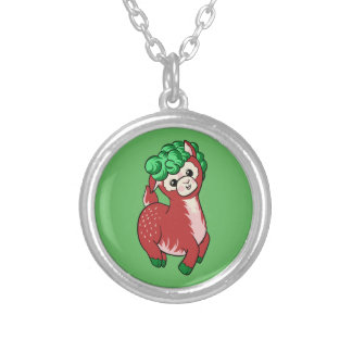 AlpacaBerry! Silver Plated Necklace