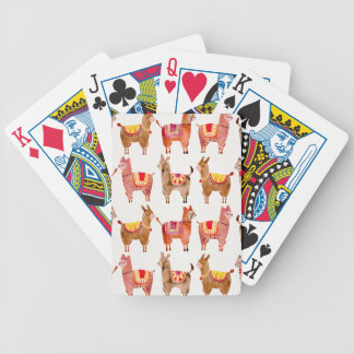 Alpacas Bicycle Playing Cards