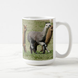 Alpacas in Motion Mug
