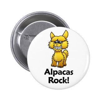 Alpacas Rock! Pins