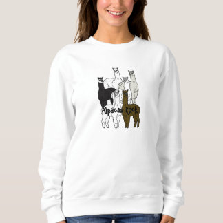 Alpacas Rock Farm Days Event Female Sweatshirt