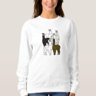 Alpacas Rock Female Sweatshirt