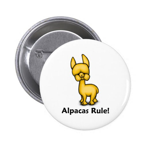 Alpacas Rule! Buttons
