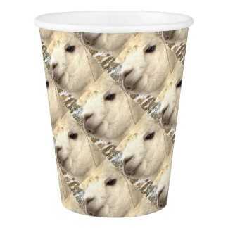 Alpaka knows paper cup