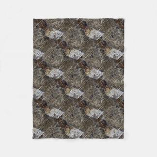 Alpaka portrait fleece blanket