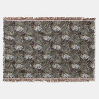 Alpaka portrait throw blanket