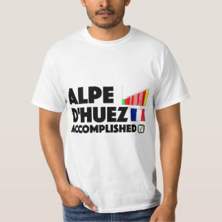 Alpe D'Huez Cycling T Shirt France Alps Mountain