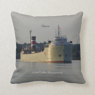 Alpena double sided square pillow