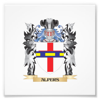Alpers Coat of Arms - Family Crest Photo Print