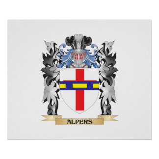 Alpers Coat of Arms - Family Crest Poster