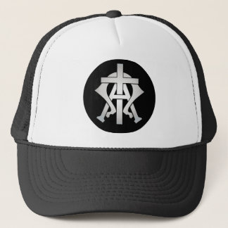 Alpha and Omega Trucker Hat