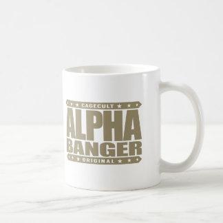 ALPHA BANGER - I'm An Undefeated Kickboxer, Gold Coffee Mug