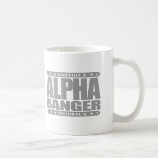 ALPHA BANGER - I'm An Undefeated Kickboxer, Silver Coffee Mug