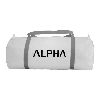 Alpha (BLACK) Gym Bag