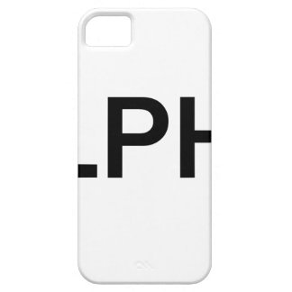 Alpha (BLACK) iPhone 5 Covers