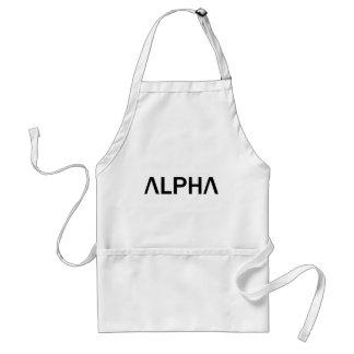Alpha (BLACK) Standard Apron