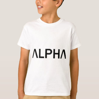 Alpha (BLACK) T-Shirt