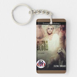 Alpha Blood Keychain