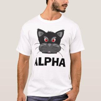 ALPHA CAT t-shirts, Funny T-Shirt