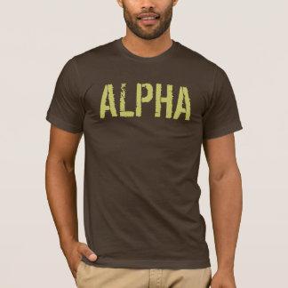 Alpha chemise pour les hommes t-shirt