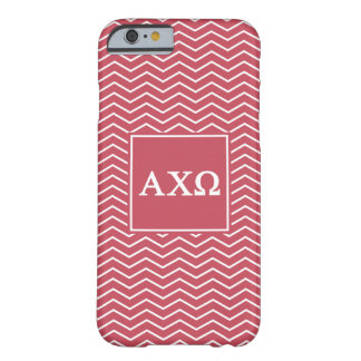 Alpha Chi Omega | Chevron Pattern Barely There iPhone 6 Case