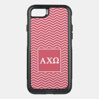 Alpha Chi Omega | Chevron Pattern OtterBox Commuter iPhone 8/7 Case
