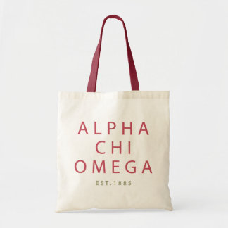 Alpha Chi Omega | Est. 1885 Tote Bag
