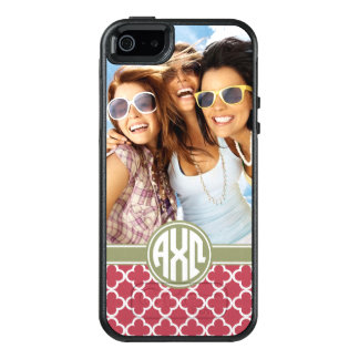 Alpha Chi Omega | Monogram and Photo OtterBox iPhone 5/5s/SE Case
