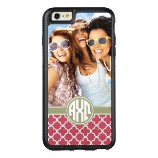 Alpha Chi Omega | Monogram and Photo OtterBox iPhone 6/6s Plus Case