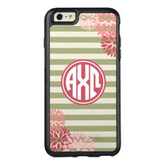 Alpha Chi Omega | Monogram Stripe Pattern OtterBox iPhone 6/6s Plus Case