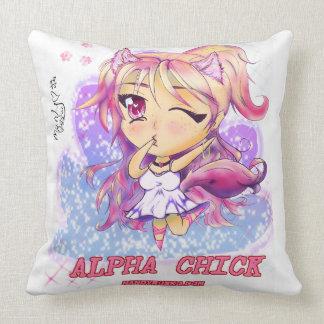 Alpha Chick Pillow 20X20