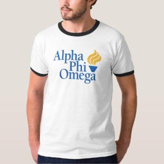 Alpha couleur d'Omega de phi - torche T-shirt