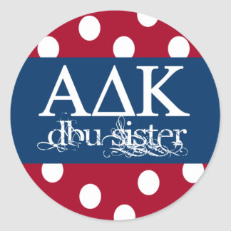 Alpha Delta Kappa Sticker