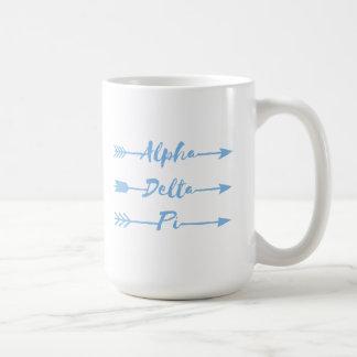 Alpha Delta Pi   Arrows Coffee Mug