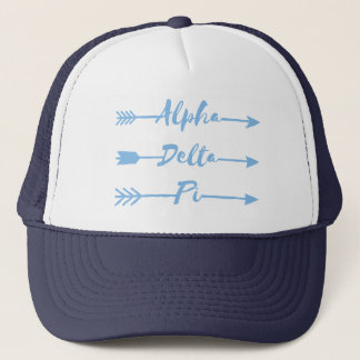 Alpha Delta Pi | Arrows Trucker Hat