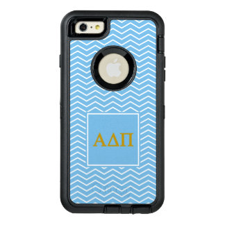 Alpha Delta Pi | Chevron Pattern OtterBox Defender iPhone Case