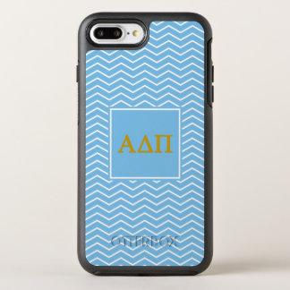 Alpha Delta Pi | Chevron Pattern OtterBox Symmetry iPhone 8 Plus/7 Plus Case