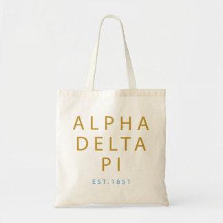Alpha Delta Pi | Est. 1851 Tote Bag