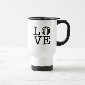Alpha Delta Pi | Love Travel Mug
