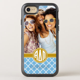Alpha Delta Pi | Monogram and Photo OtterBox Symmetry iPhone 8/7 Case