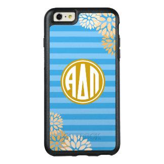 Alpha Delta Pi | Monogram Stripe Pattern OtterBox iPhone 6/6s Plus Case