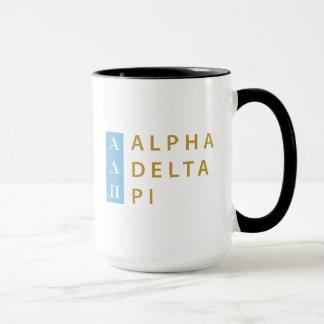 Alpha Delta Pi | Stacked Logo Mug