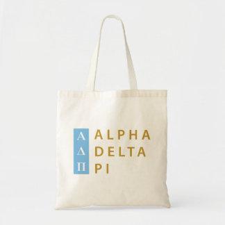Alpha Delta Pi | Stacked Logo Tote Bag