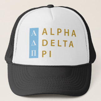 Alpha Delta Pi | Stacked Logo Trucker Hat