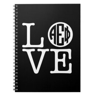 Alpha Epsilon Phi | Love Notebook