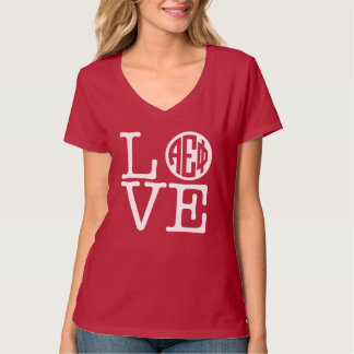 Alpha Epsilon Phi | Love T-Shirt