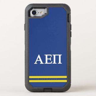 Alpha Epsilon Pi | Sport Stripe OtterBox Defender iPhone 8/7 Case