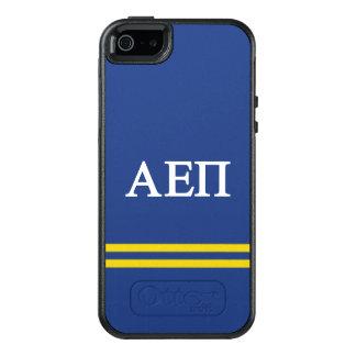 Alpha Epsilon Pi | Sport Stripe OtterBox iPhone 5/5s/SE Case