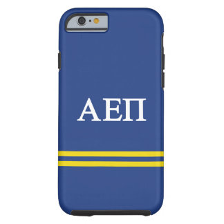 Alpha Epsilon Pi | Sport Stripe Tough iPhone 6 Case